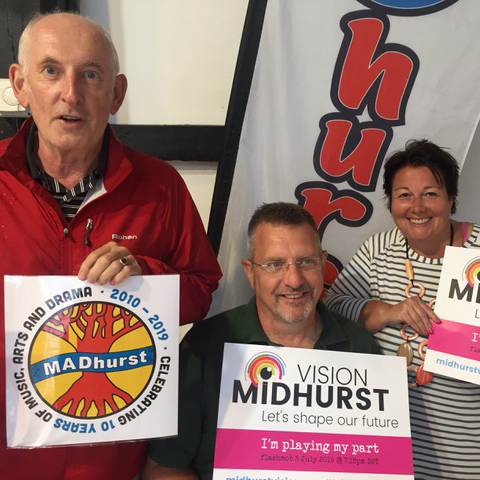 Madhurst organisers supporting the survey